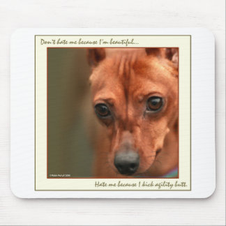 Min Pin Beautiful: Agility Mouse Pad
