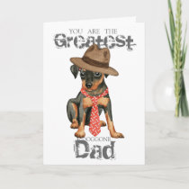 Min Pin Dad Card