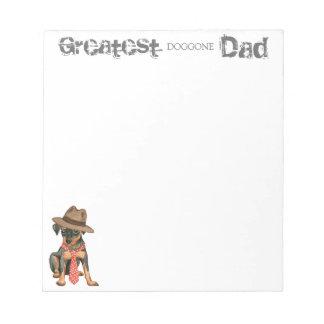 Min Pin Dad Notepad