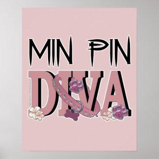 Min Pin DIVA Print