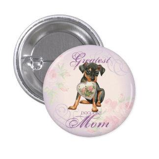 Min Pin Heart Mom