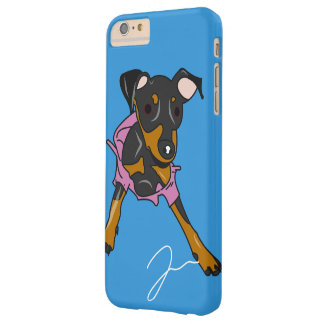 Min Pin in Trouble Barely There iPhone 6 Plus Case