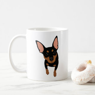 Min Pin Lover Classic Coffee Mug (Black Min Pin)