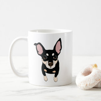 Min Pin Lover Classic Coffee Mug (Oggie)