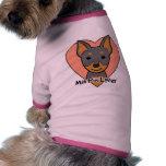 Min Pin Lover Pet T Shirt