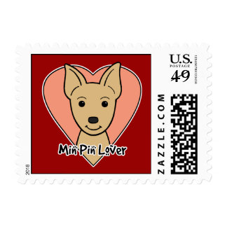 Min Pin  Lover Postage Stamps