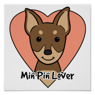 Min Pin Lover Poster