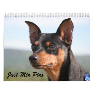 Min Pins 2013 Calendar