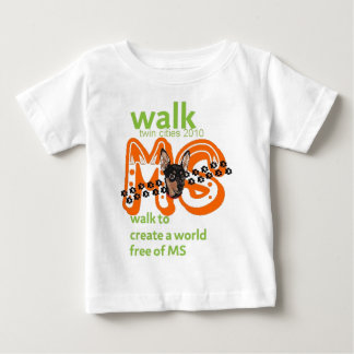 Min Pins For Multiple Sclerosis Cure Baby T-Shirt