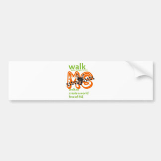 Min Pins For Multiple Sclerosis Cure Bumper Sticker
