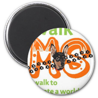 Min Pins For Multiple Sclerosis Cure Magnet