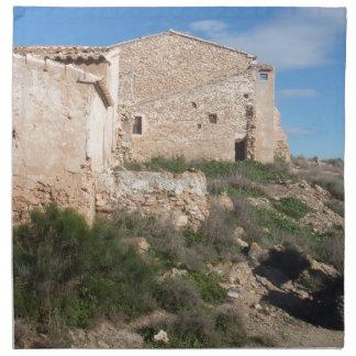 Mina abandonada España de Almería Servilletas