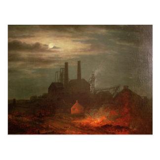 Mina de carbón vieja de Hetton Newcastle Postales
