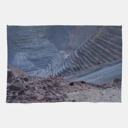 Mina de cobre de Kennecott Toallas De Mano