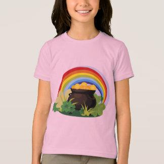Mina de oro afortunada del arco iris de los playera