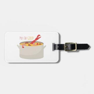 Mina de oro etiquetas bolsas