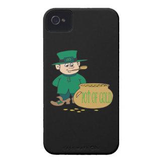 Mina de oro iPhone 4 carcasas