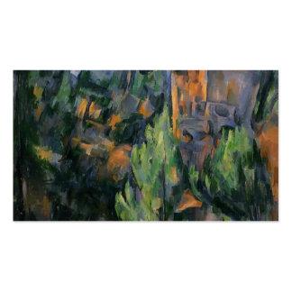 Mina de Paul Cezanne- Bibemus Plantillas De Tarjetas Personales