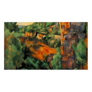 Mina de Paul Cezanne- Bibemus Tarjeta Personal