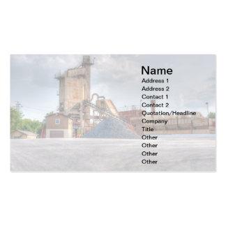 mina de piedra plantillas de tarjetas personales