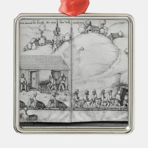 Mina de plata de las Croix-aux.-Minas del La, Ornamento De Reyes Magos