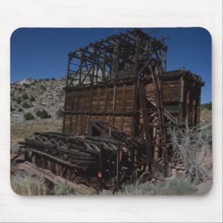 Mina de plata vieja en Nevada Mousepads