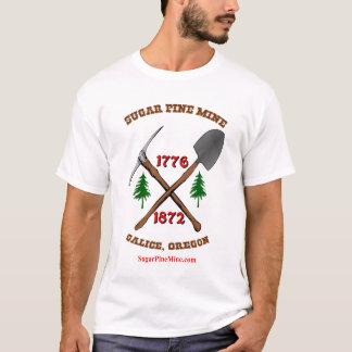 Mina del pino del azúcar, Galice, O camiseta del