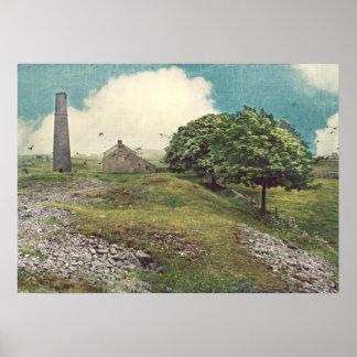 Mina Derbyshire de la urraca Póster