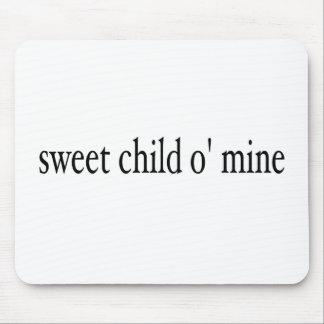 Mina dulce del niño O Alfombrillas De Ratones