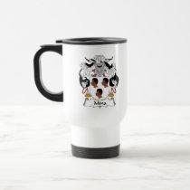 Mina Family Crest Mug