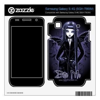 Mina Gothic Bite Me Vampire Samsung Galaxy S 4G Samsung Galaxy S 4G Skin