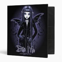 vampire, gothic, fairy, dark, fangs, fantasy, art, faery, faerie, fae, wings, blue, myka, jelina, mina, Fichário com design gráfico personalizado