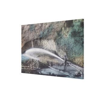 Mina hydráulica ScenePlacerville, CA Lona Envuelta Para Galerías