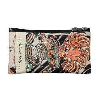 Minamoto Yorimitsu Kuniyoshi Utagawa hero art Makeup Bag