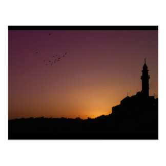 Minaret in Amman Postcard