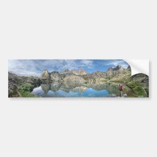 Minaret Lake 2 - Ansel Adams Wilderness - Sierra Bumper Sticker