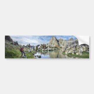 Minaret Lake - Ansel Adams Wilderness - Sierra Bumper Sticker
