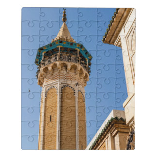 Minaret Of A Mosque Jigsaw Puzzle