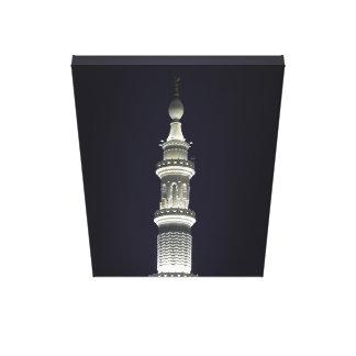 Minaret of Masjid Nabwi Canvas Print
