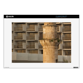 """Minaret of the Jama al-Bahr waterfront mosque Decals For 15"""" Laptops"""