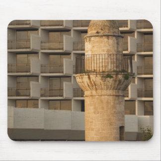 Minaret of the Jama al-Bahr waterfront mosque Mouse Pad