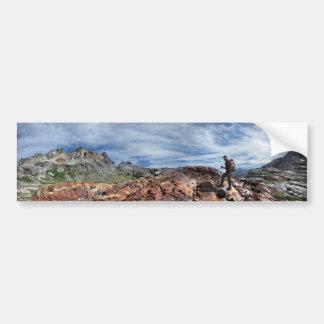 Minarets - Ansel Adams Wilderness - Sierra Nevada Bumper Sticker