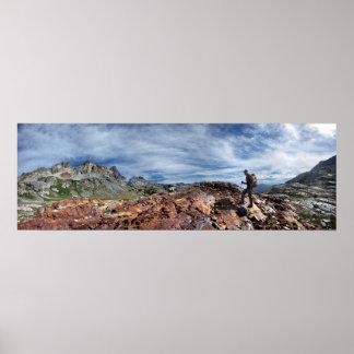 Minarets - Ansel Adams Wilderness - Sierra Nevada Poster