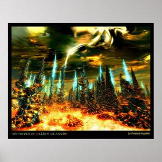 Minarets of Fallen Wizards Posters