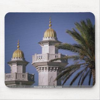 Minarets of Monastir, Tunisia Mouse Pad
