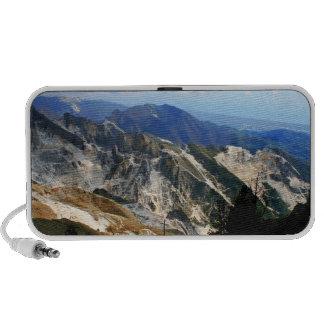 Minas de mármol blancas, Carrara - Italia PC Altavoces