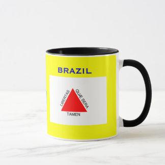 Minas Gerais, Brazil Flag & Crest Mug