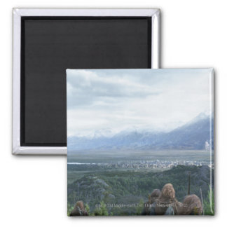 Minas Tirith in View Magnet
