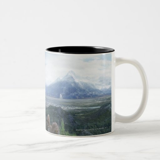 Minas Tirith in View Mugs