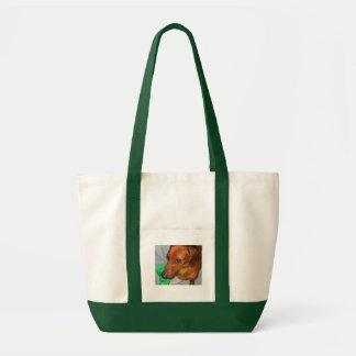Minature Dachshund Tote Bag